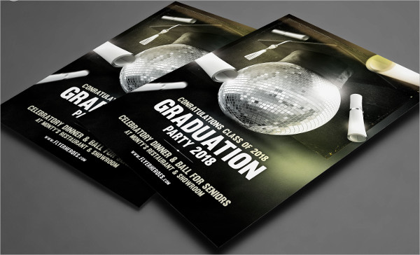 Professional Graduation Flyer Template