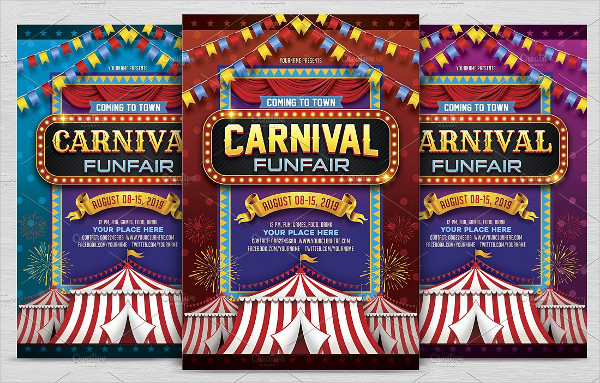 Carnival Fun Fair Flyer Template