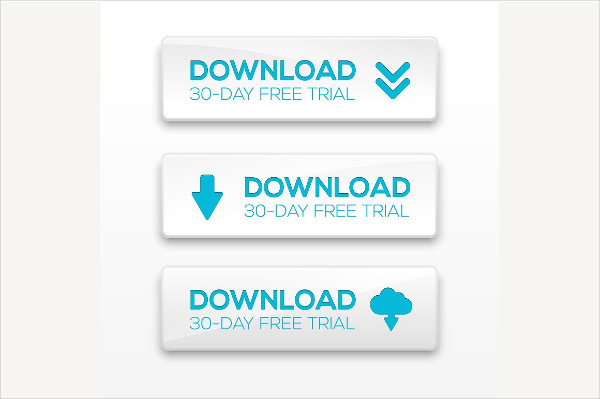 Vector Illustration of Download Button