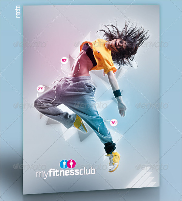 My Gym Fitness Club Brochure Template