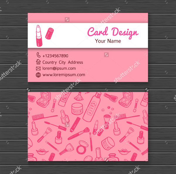 Nail Artist Business Cards Template