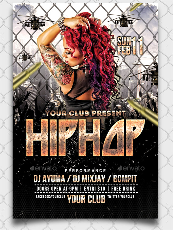 23+ Hip Hop Flyer Templates - Free & Premium Download