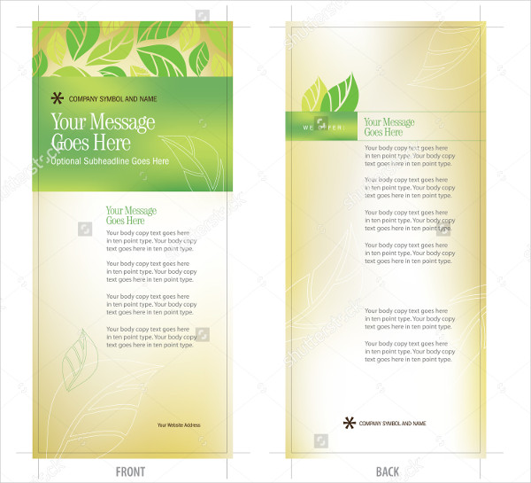 25+ Rack Card Templates - Free PSD, AI,EPS, Vector Format Download