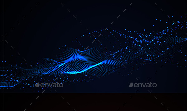Particle Waves Backgrounds
