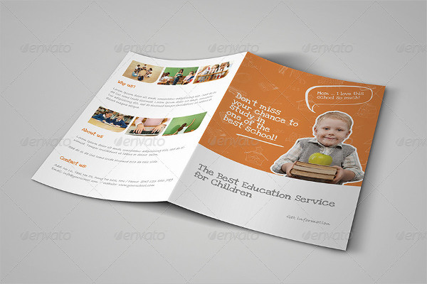 Premium Education Brochure Template