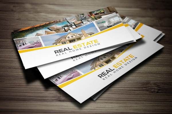 Best Real Estate Business Card Template
