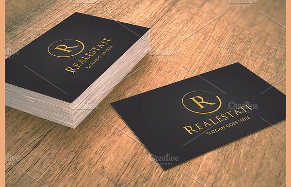 Classy Business Card for Real Estate Companies