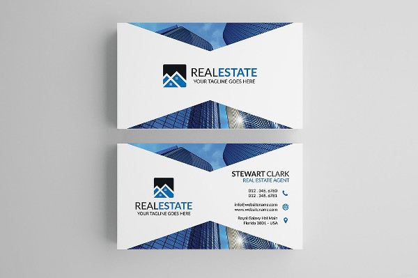 Real Estate Or Mortgage Business Card Template
