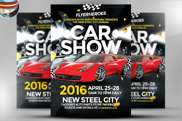 Car And Bike Show Flyer Template Фото база - Car and bike show flyer template