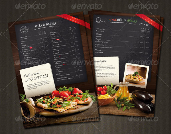 Menu Flyer Templates  Free Psd Ai Eps Vector Format Download