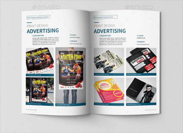 Portfolio Brochure Templates PSD AI Vector Format Download - Portfolio brochure template