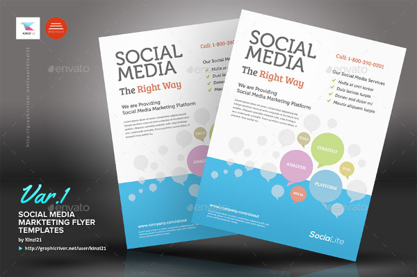 product flyer templates