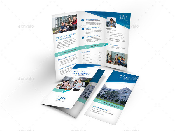 Clean Brochure for Education Center