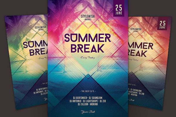 Summer Stylish Party Flyer