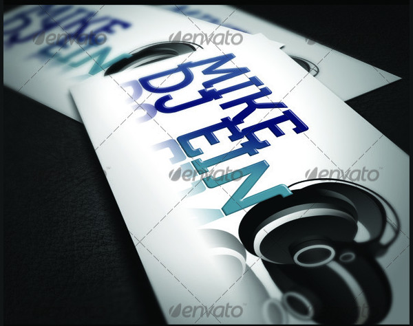 Super Style DJ Business Card Templates