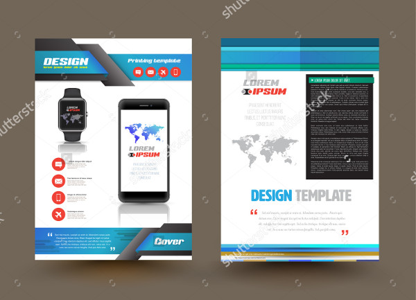Product Brochure Templates Free Premium Download - Product brochure template