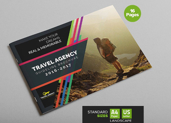 Travel Agency Guide Brochure