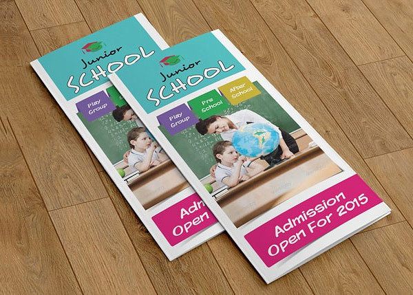 Tri-Fold Brochure for Junior School