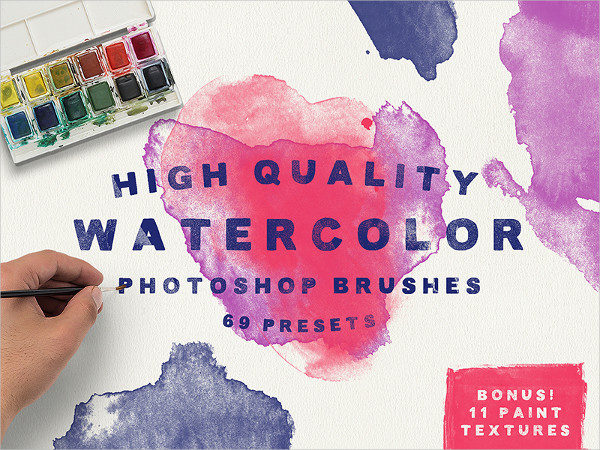 Creative Watercolor Brush for Photoshop