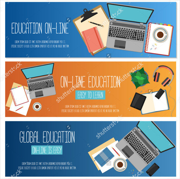 Web Banners for Education