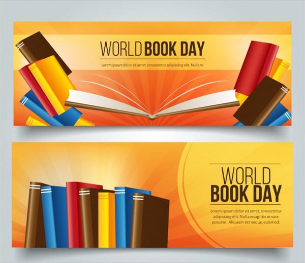World Book Day Banners Free Download