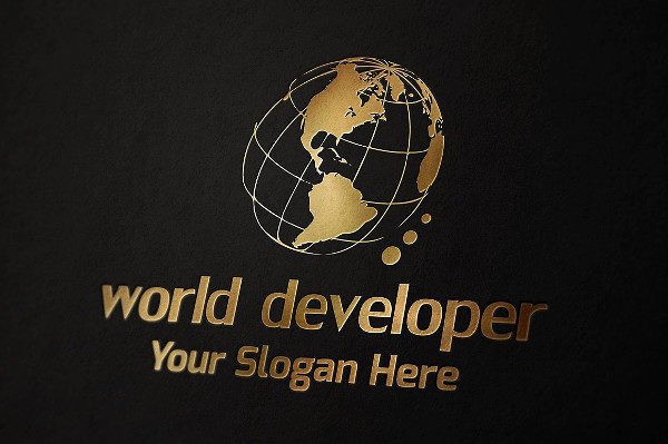 World Developer Logo Template