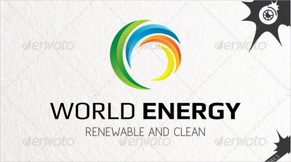 Clean World Energy Logo Template