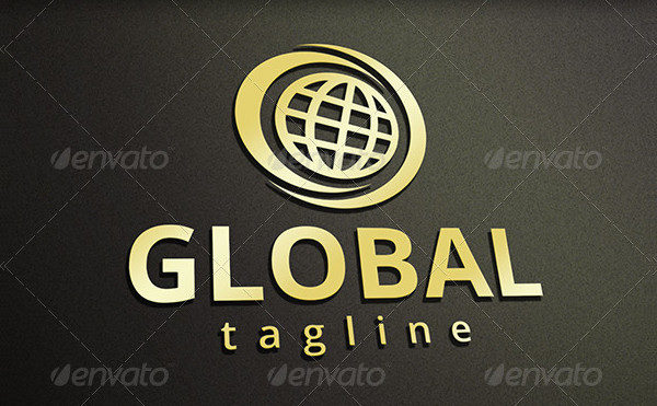 Eco Global Marketing Logo Template