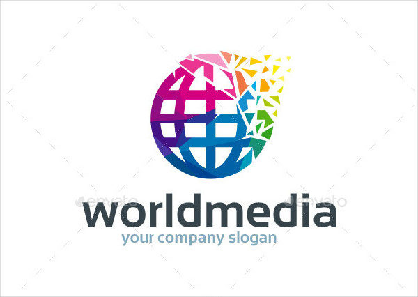 Best World Media Logo Template