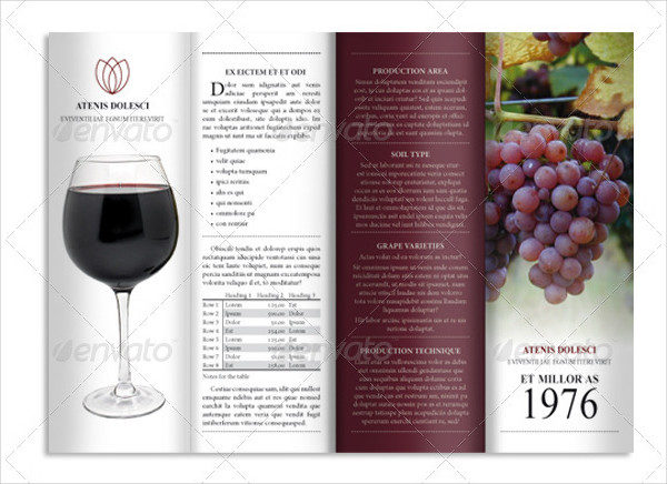 4Fold Wine Product Brochure