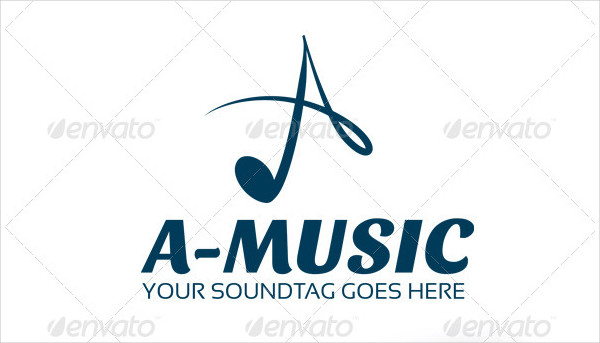 A-Music Logo Template