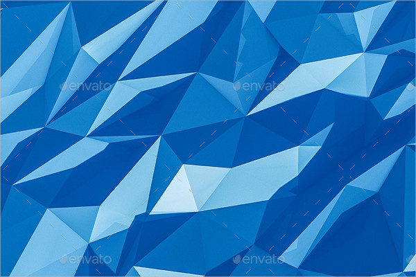 Printable Polygon Background