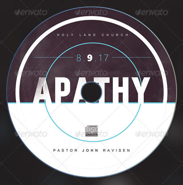 Apathy CD ArtWork Template