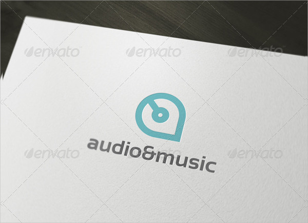 Music & Audio Logo Template
