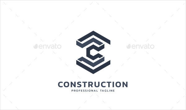 Awesome Construction Logo Template