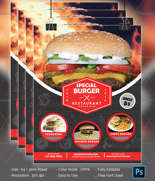 Best Burger Flyer Download