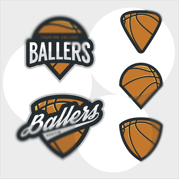 27 basketball logo templates psd ai eps vector format download. Black Bedroom Furniture Sets. Home Design Ideas