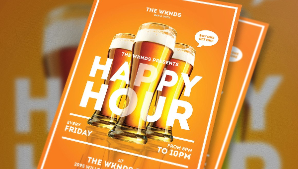 Beer Party Flyer Templates