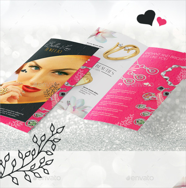 Jewelry Brochure Templates  Free  Premium Download