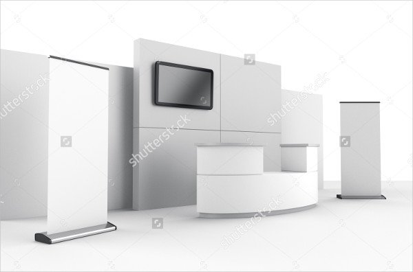 Booth or Stall Mockup