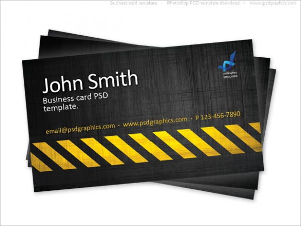 Free Construction Business Cards Templates