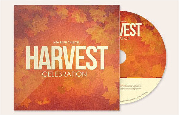 Harvest Celebration CD Artwork Template