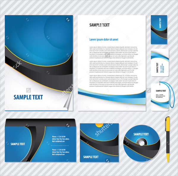 Vector CD Artwork Business Template