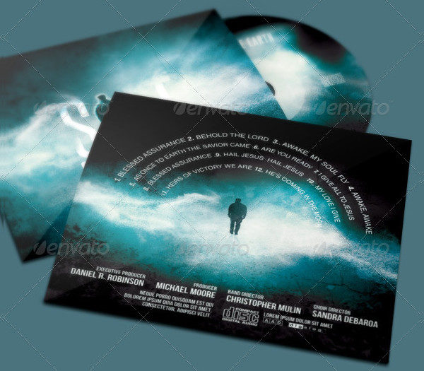 Salt of the Earth CD Artwork Template