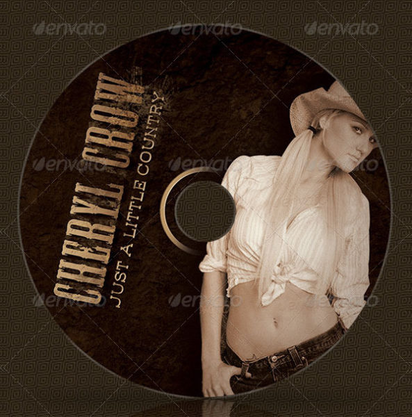 Western Music CD Artwork Templates