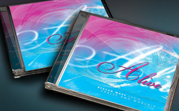 CD Cover Artwork Template