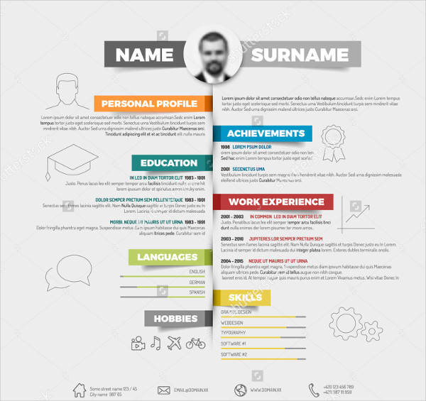 27 infographic resumes free sample example format download