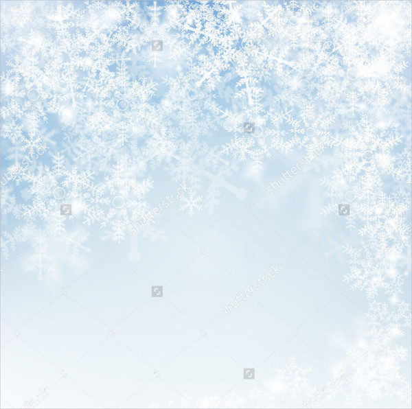 Decorative Snowflake Texture