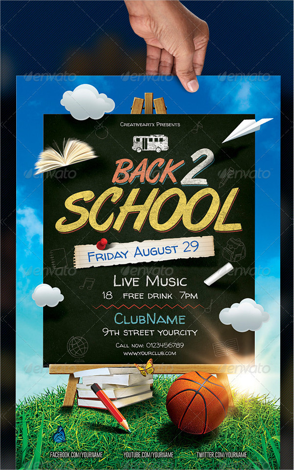 Back To School Flyers  Free  Premium Download