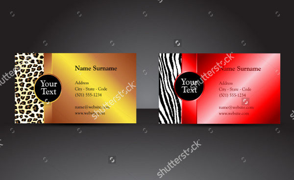 Attractive Fancy Business Card Templates